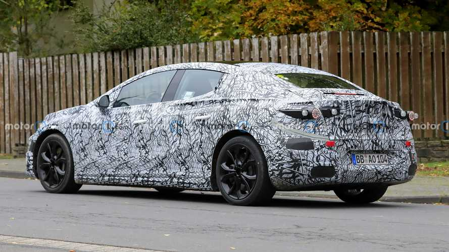 Mercedes EQE Spied With Production Body, Placeholder Taillights