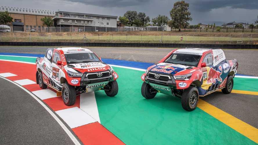 HIlux Dakar 2021 Toyota Gazoo Racing