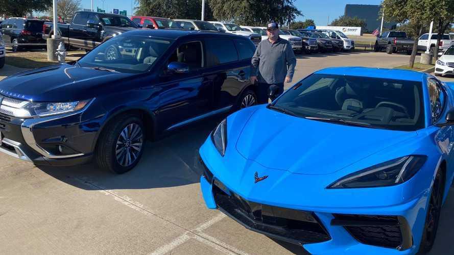 Cet homme échange une Corvette contre... un Mitsubishi Outlander !