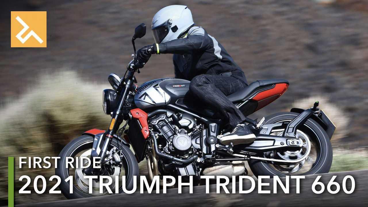 2021 Triumph Trident 660 Review Main