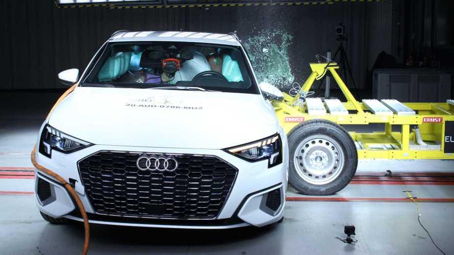 Euro NCAP crash & safety tests of Audi A3 (2020)