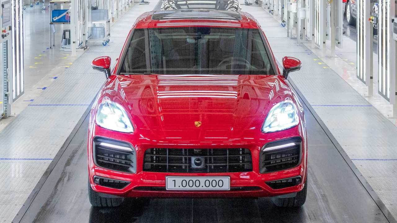 One-millionth Porsche Cayenne