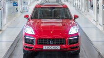 porsche cayenne one million production