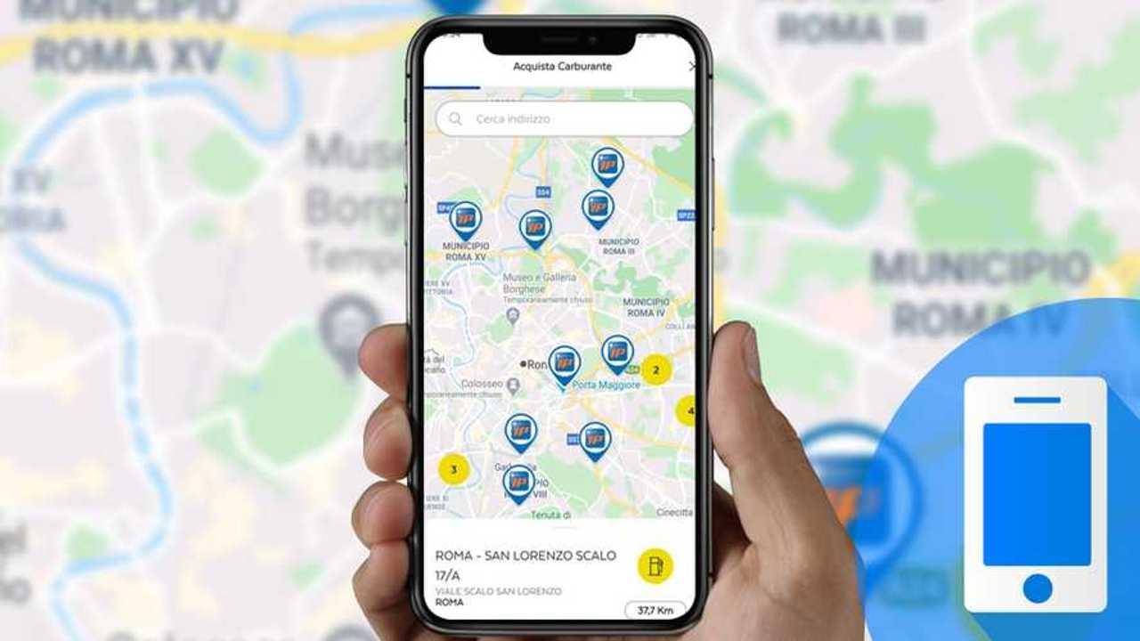 Come acquistare del carburante con l'app Postepay