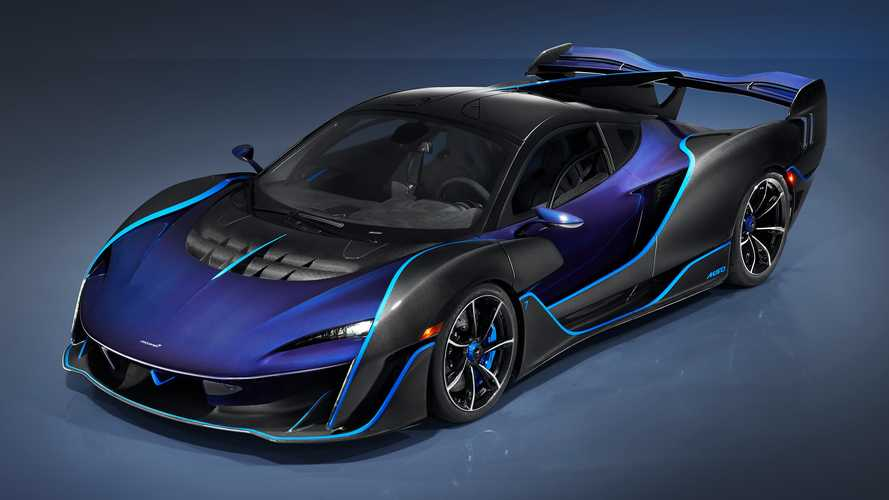 McLaren Sabre Makes Surprise Debut, Surpasses Senna With 824 HP