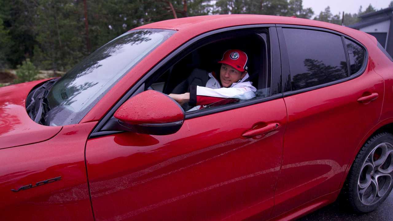 Alfa Romeo Stelvio para Kimi Räikkönen