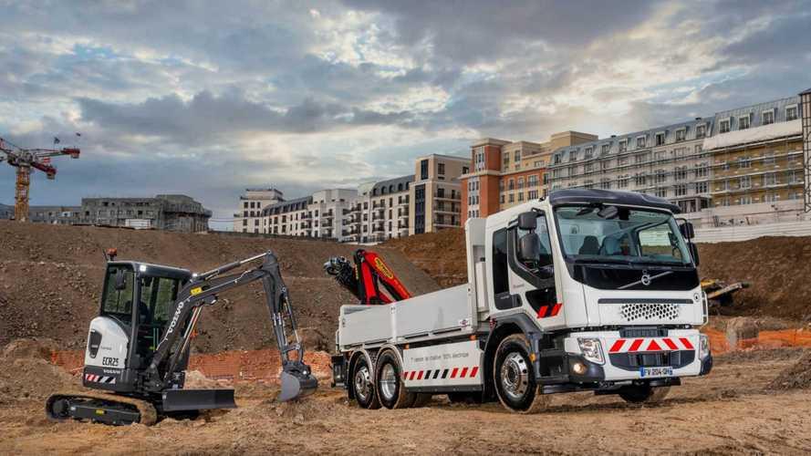Volvo entrega 1ª caminhão elétrico e aposta em revolução na construção civil