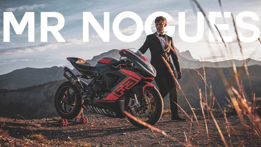 Watch MV Agusta Freestyle Rider Thibaut Nogues Chase Happiness