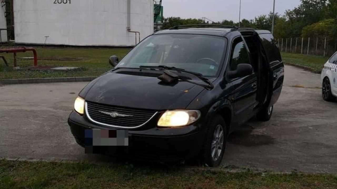 Menekülő Chrysler