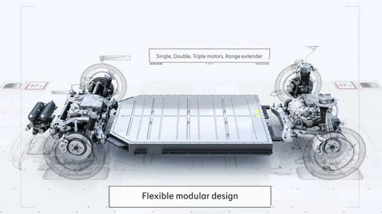 Lynk & Co Zero Concept battery and powertrain