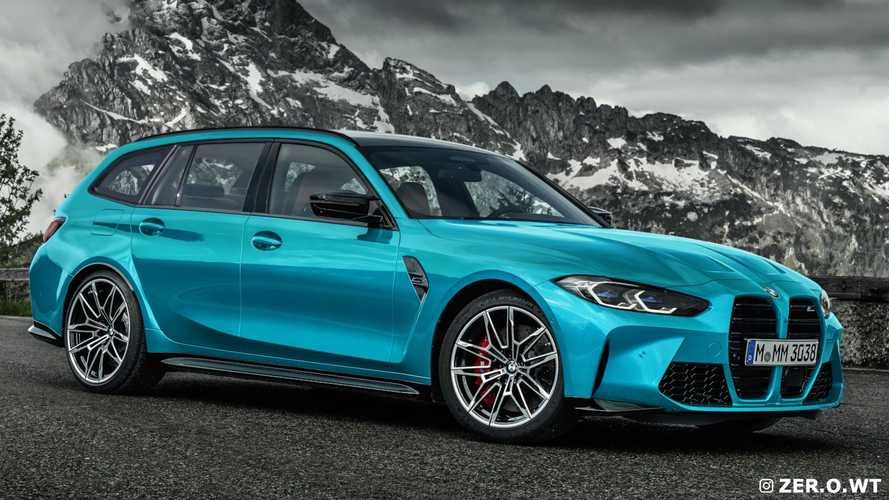 Here's The Upcoming BMW M3 Touring Wagon Rendered In Every Production Color