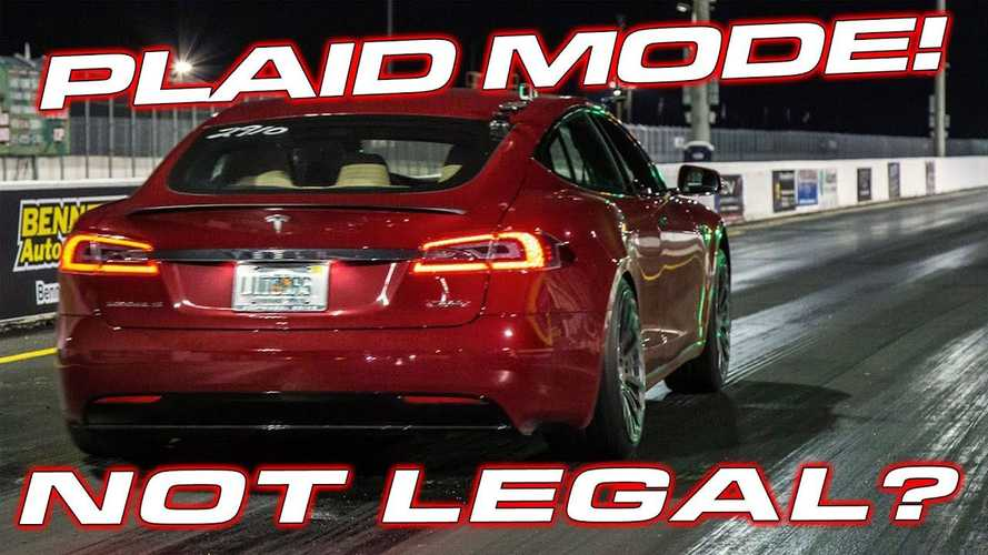 Tesla Model S Plaid Order Placed, But It May Not Be Allowed At Tracks