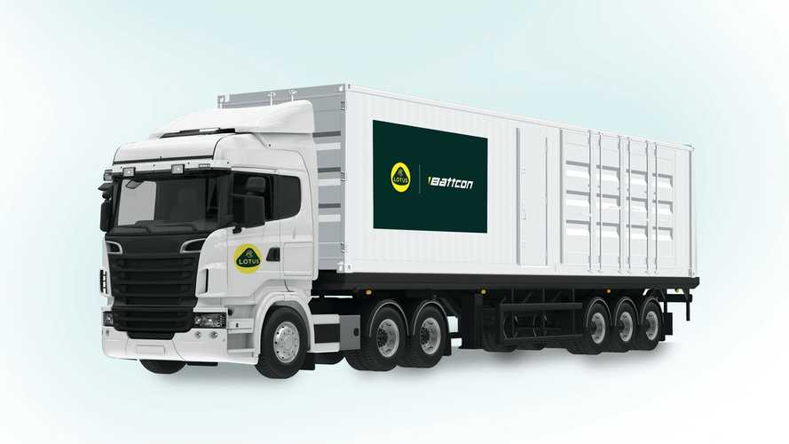 Lotus introduces containerised battery test facilities