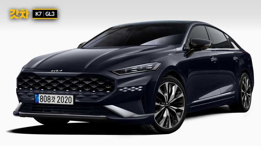 2022 Kia Cadenza renderings