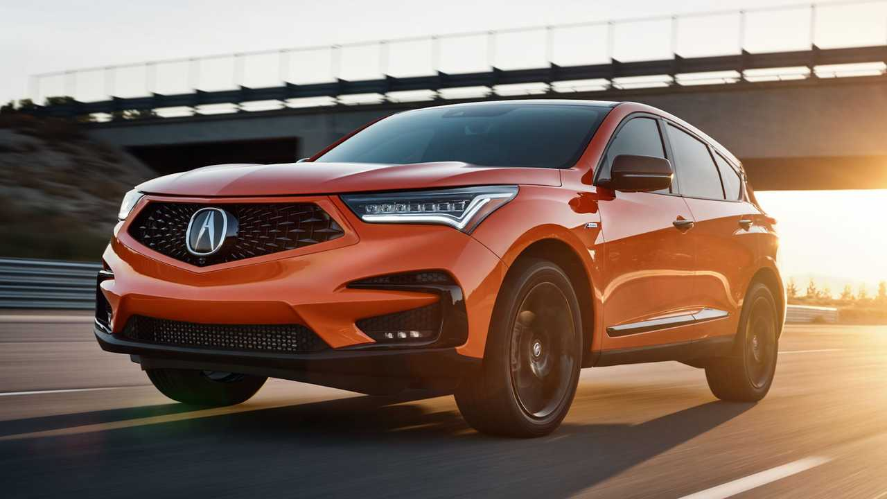 2021 Acura RDX PMC Edition Front 3/4