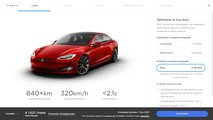 Tesla  Model S Plaid, il configuratore