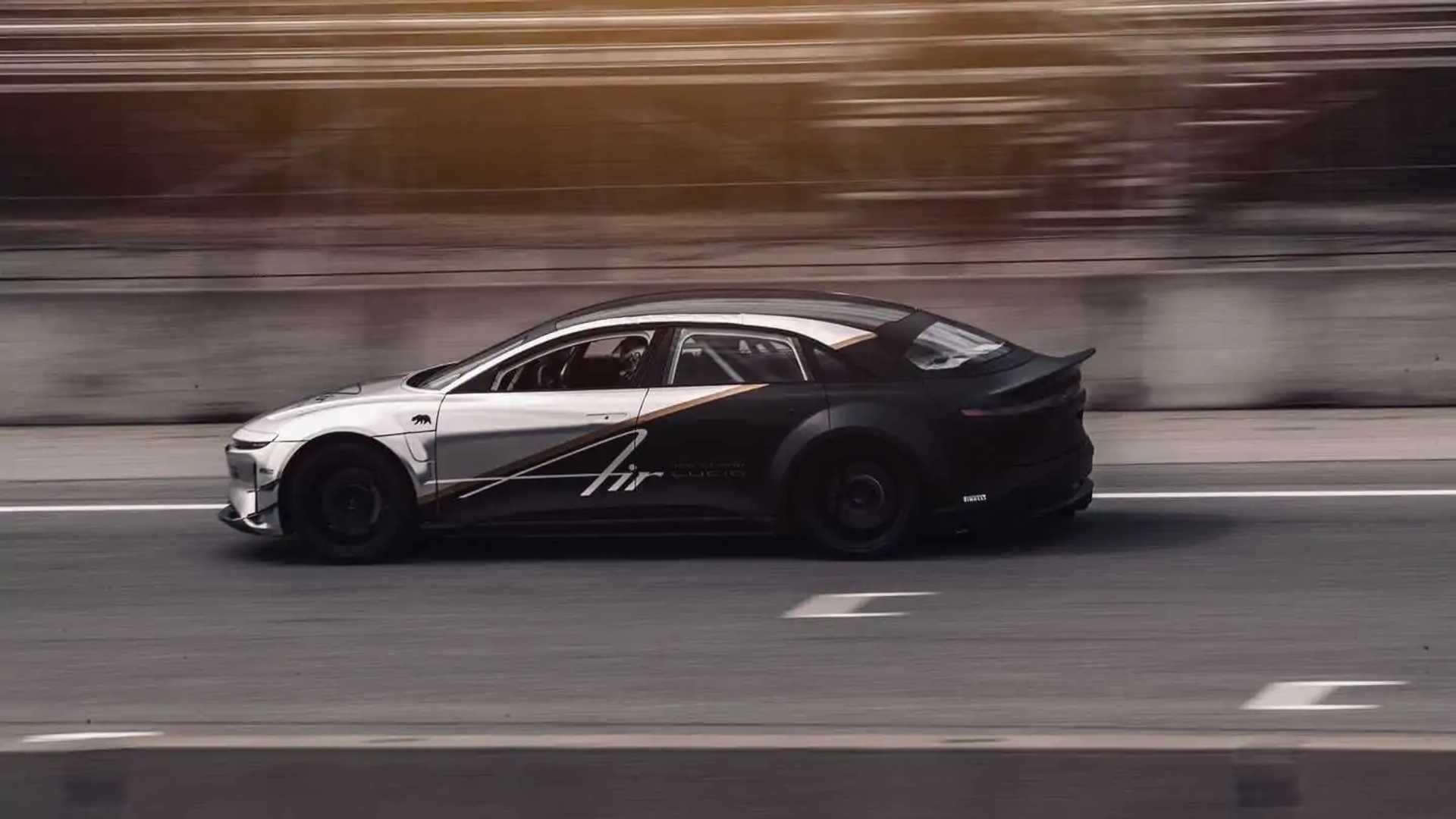 Lucid Air - Laguna Seca Performance Testing