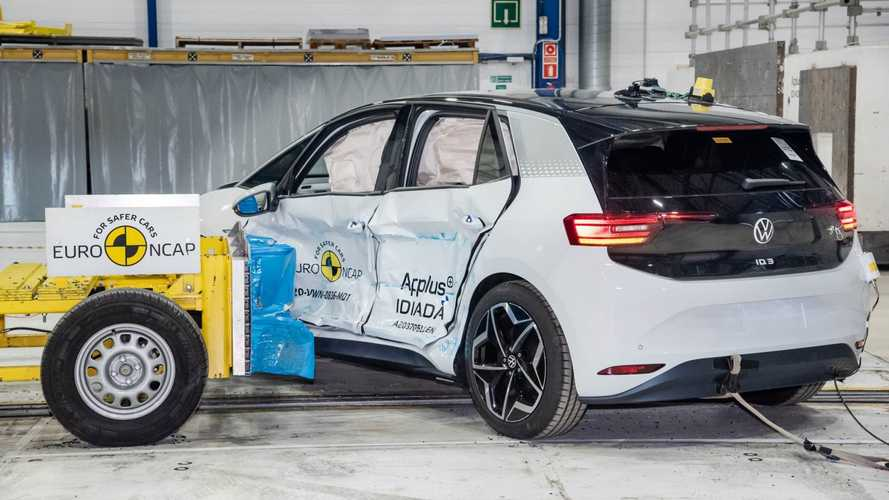 Volkswagen ID.3: 5 stelle EuroNCAP