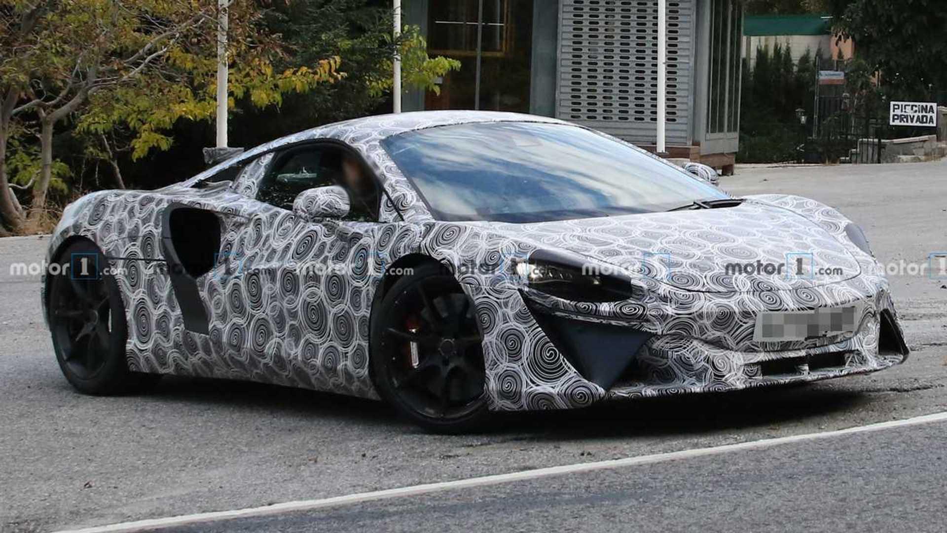 McLaren Hybrid Supercar