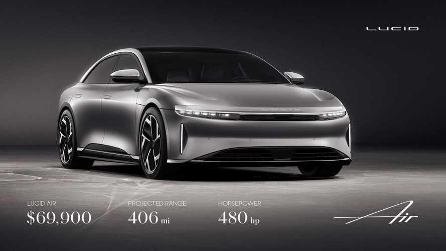 Lucid Reveals Base Air Sedan Range, Pricing: Gets All Up In Tesla's Kitchen