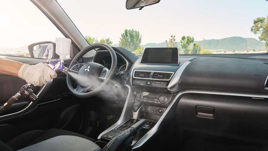 Mitsubishi Offers Interior Cleaning That's EPA-Approved To Kill Covid
