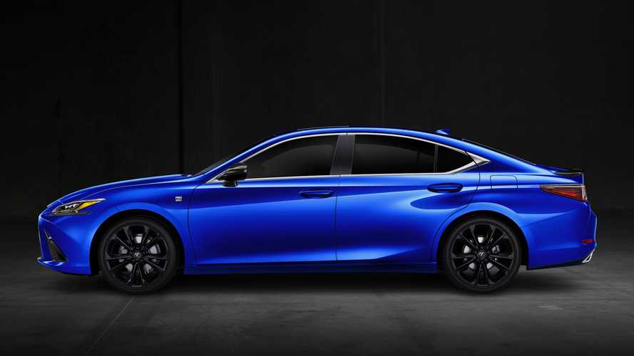 2021 Lexus RC, ES Black Line