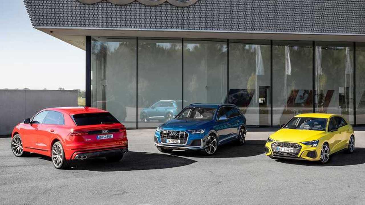 Nuove Audi S3, SQ7 TFSI ed SQ8 TFSI