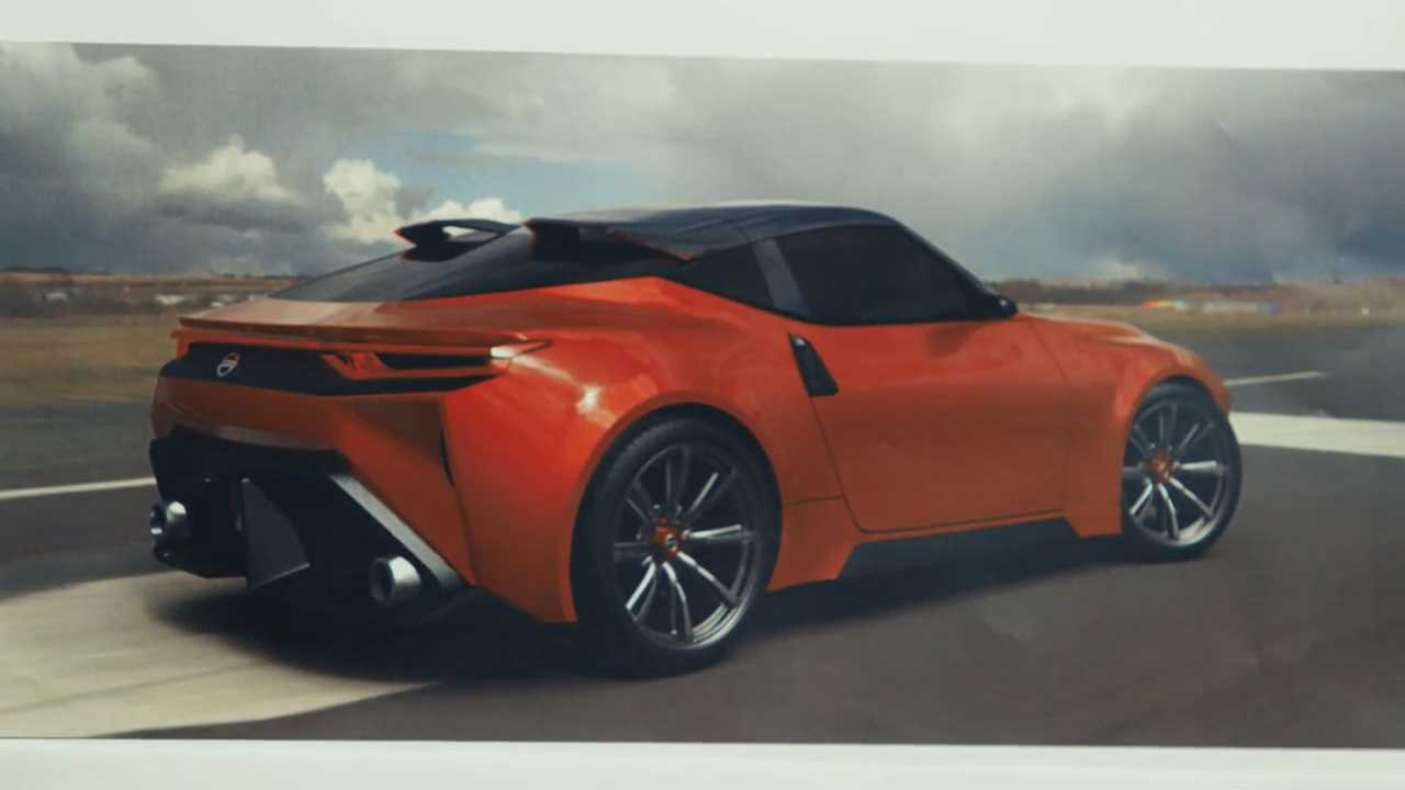 Nissan Z Proto concept design sketch
