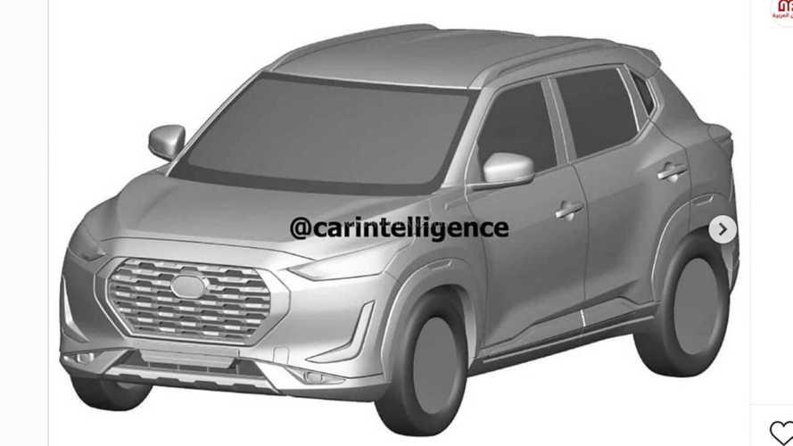 Nissan Magnite: futuro SUV nacional tem visual definitivo revelado em patentes