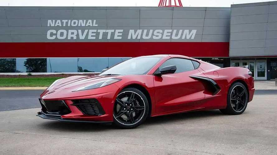 2021 Chevy Corvette C8 Red Mist Paint
