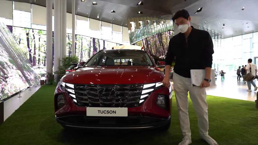 2022 Hyundai Tucson Looks Wild In The Metal