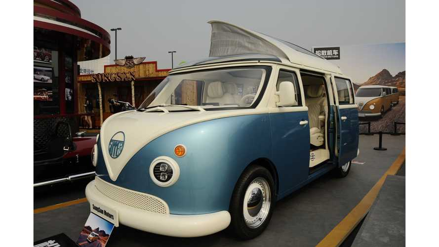 This Adorable Chinese Minivan Does Its Best VW T1 Impression