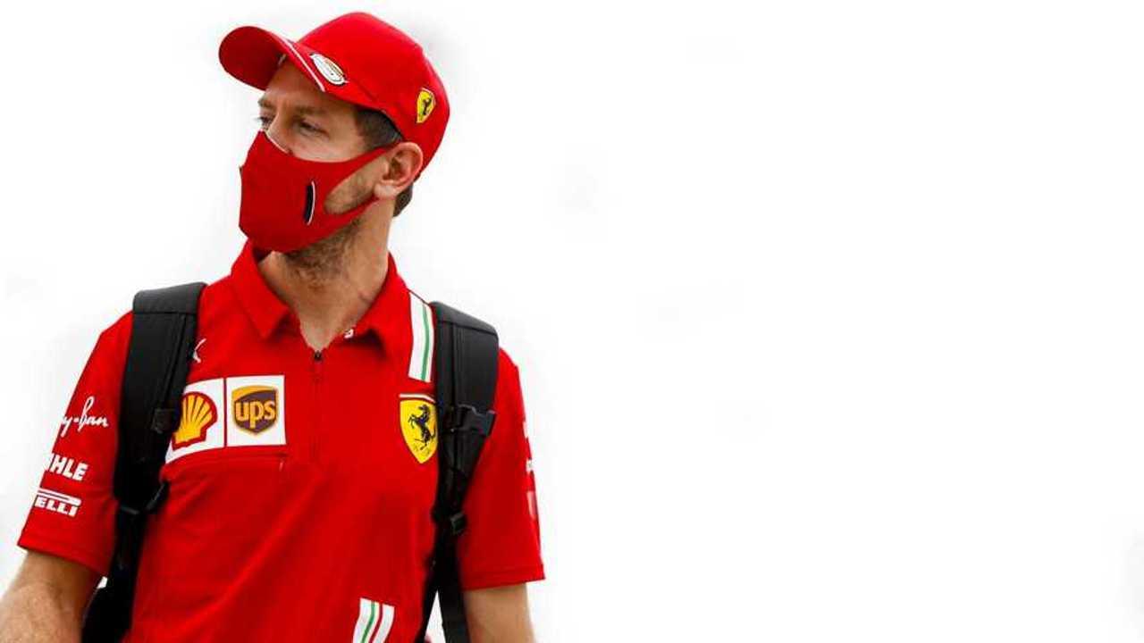 Sebastian Vettel at Bahrain GP 2020