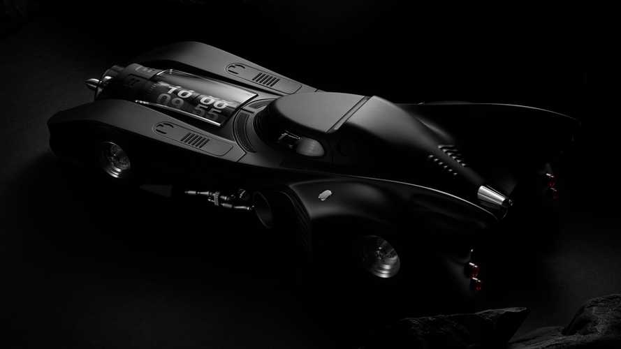 Incredible Swiss-Made Batmobile Desk Clock Costs $30,000