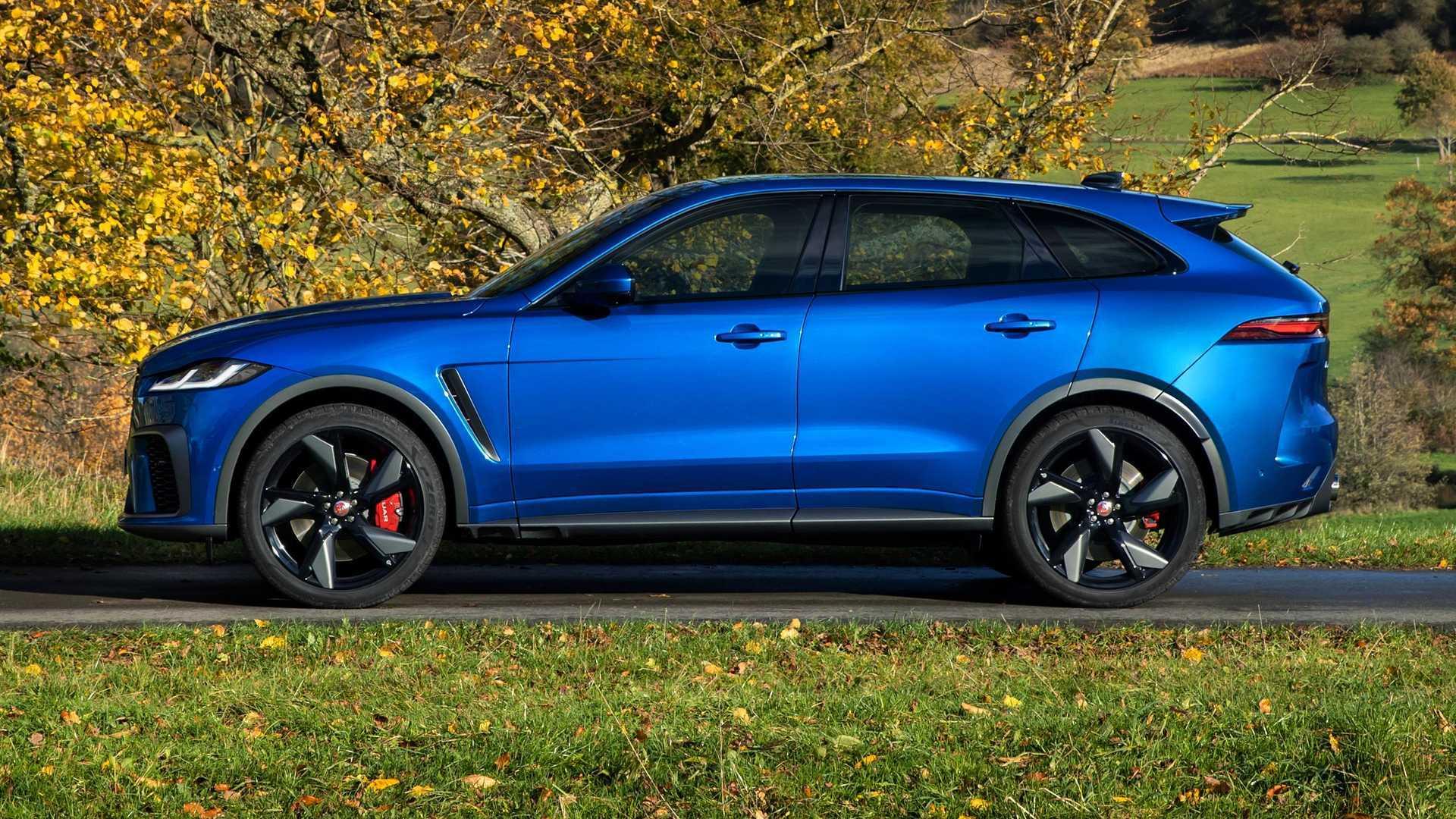 2021 Jaguar F-Pace SVR Debuts With Better Acceleration, Higher Top Speed   AutoMotoBuzz.com