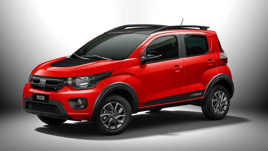 Fiat Mobi 2021 chega com versão aventureira Trekking por R$ 47.390