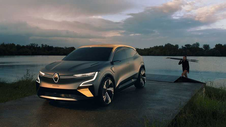Renault MeganE покажут на Мюнхенском автосалоне