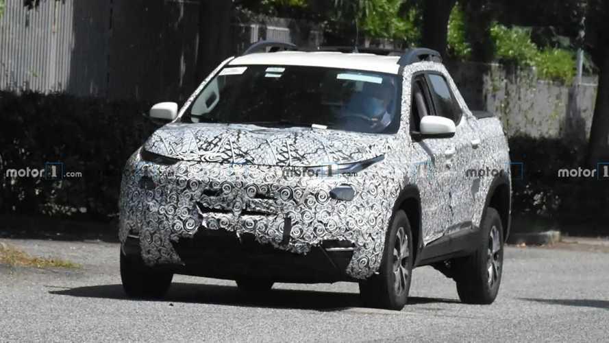 Nova Fiat Toro 2022 - Flagra na Itália