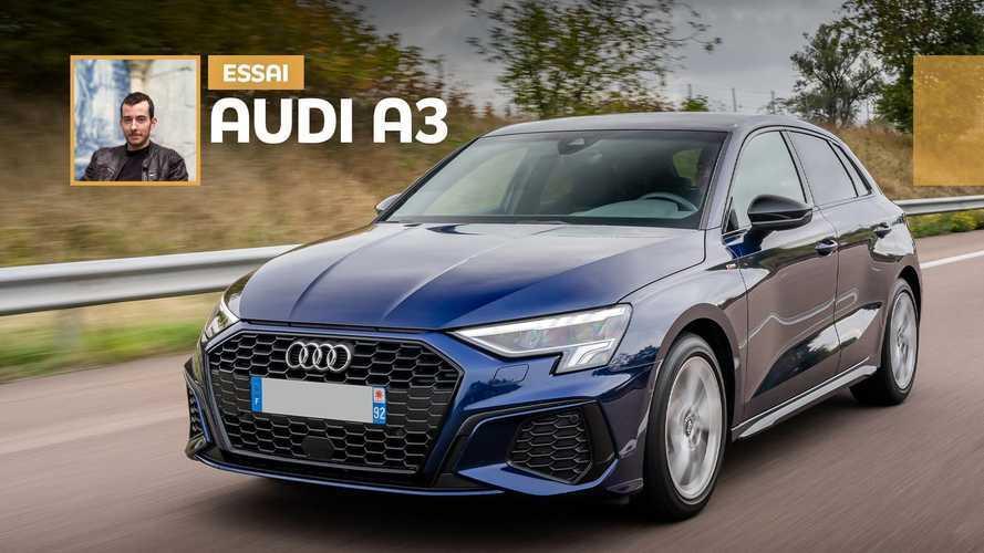 Essai Audi A3 Sportback (2020) - Notre test de Marseille à Paris