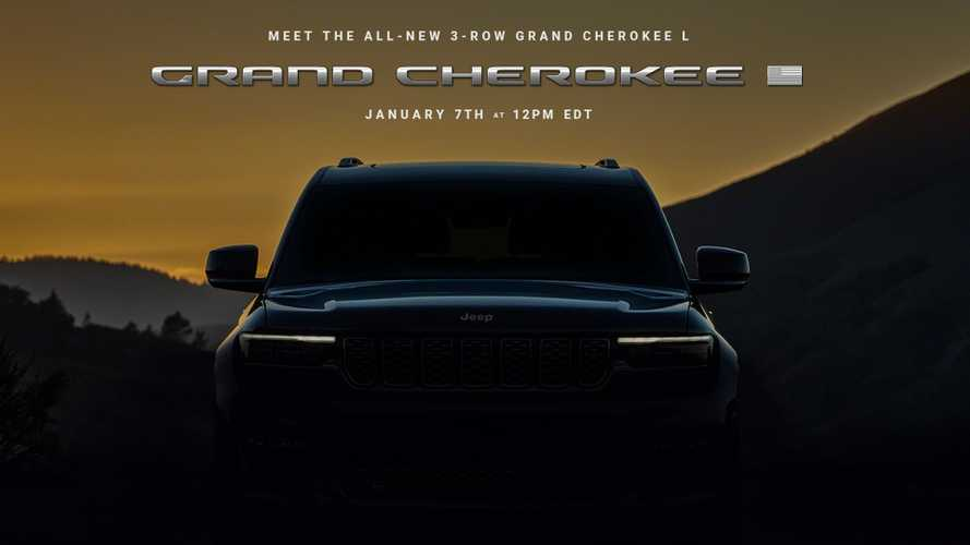 2021 Jeep Grand Cherokee L Three-Row SUV Will Debut On January 7