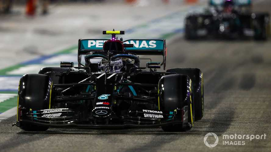 Sakhir GP: Bottas beats Russell to pole by 0.026s