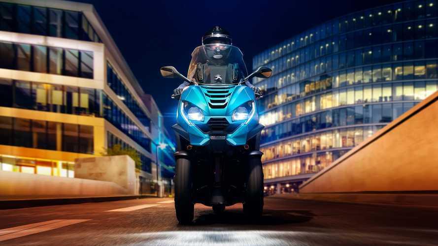 Peugeot Metropolis 2020, el scooter de tres ruedas conectado