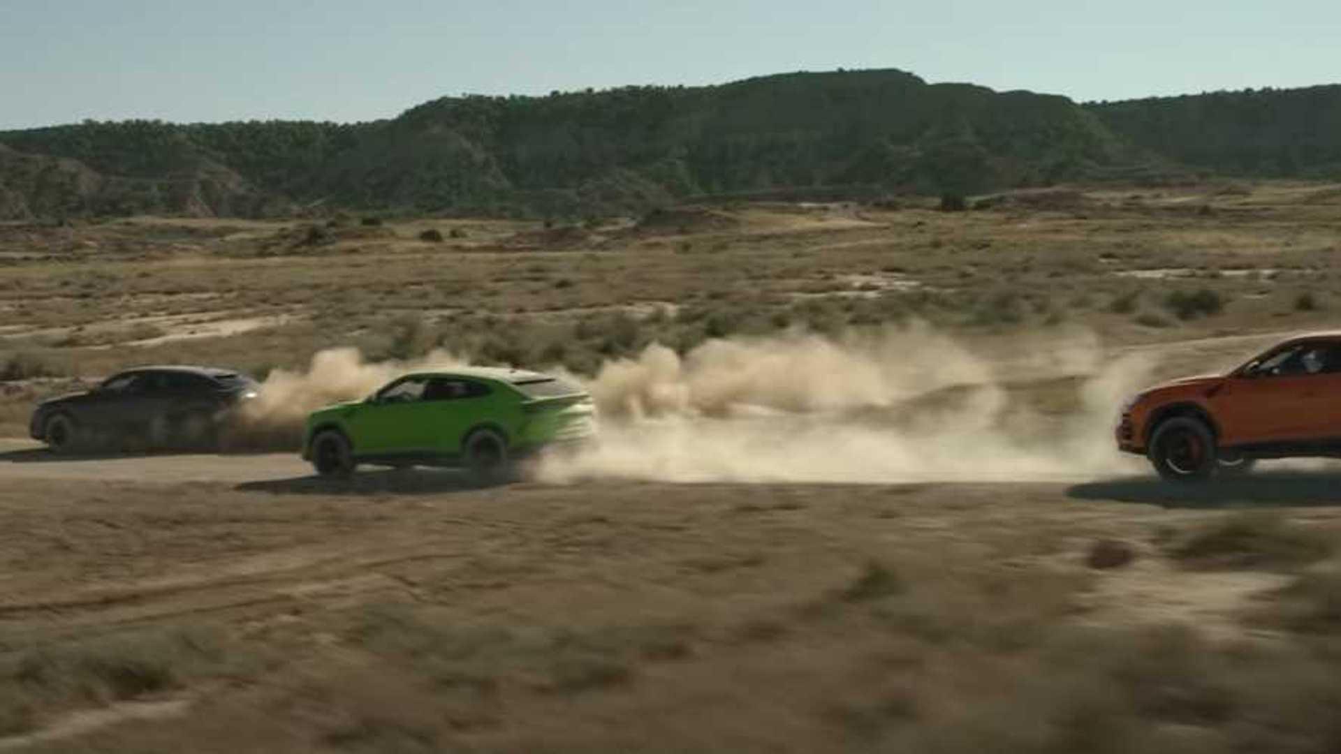 Lamborghini Flaunts New Urus Pearl Colors In Action-Filled Video