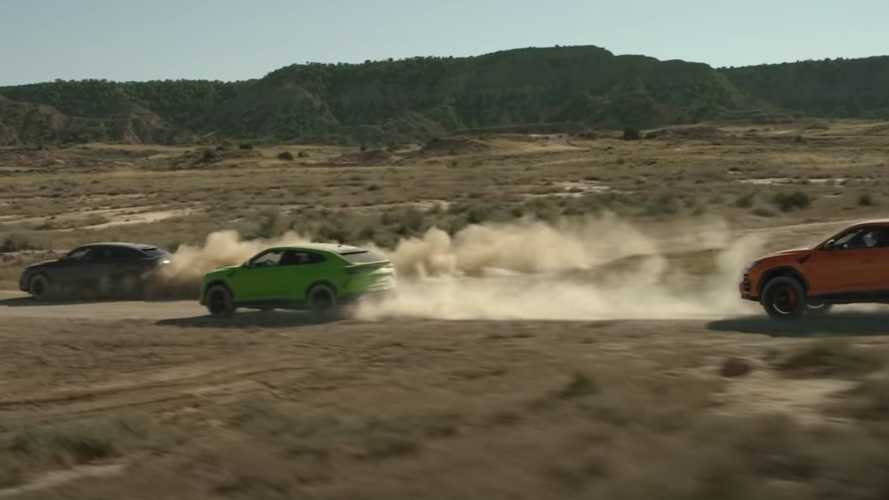 Lamborghini flaunts new Urus pearl colours in action-filled video