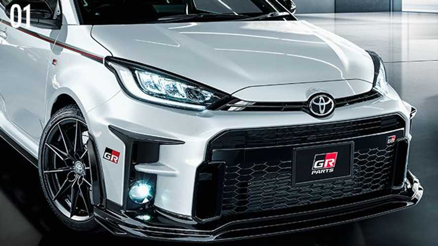 Toyota GR Yaris upgrades by Gazoo