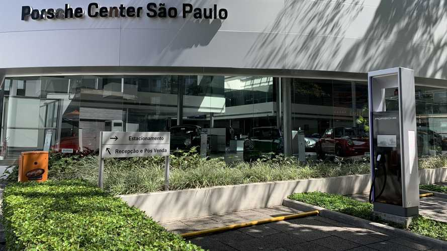Porsche instala em SP a estação de recarga mais rápida do Brasil