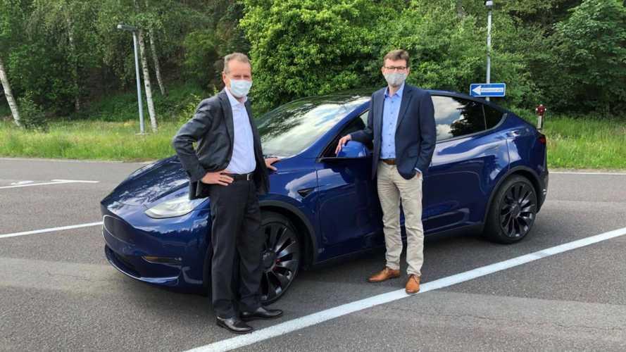 Глава Volkswagen о Tesla Model Y: Пример, но не во всем