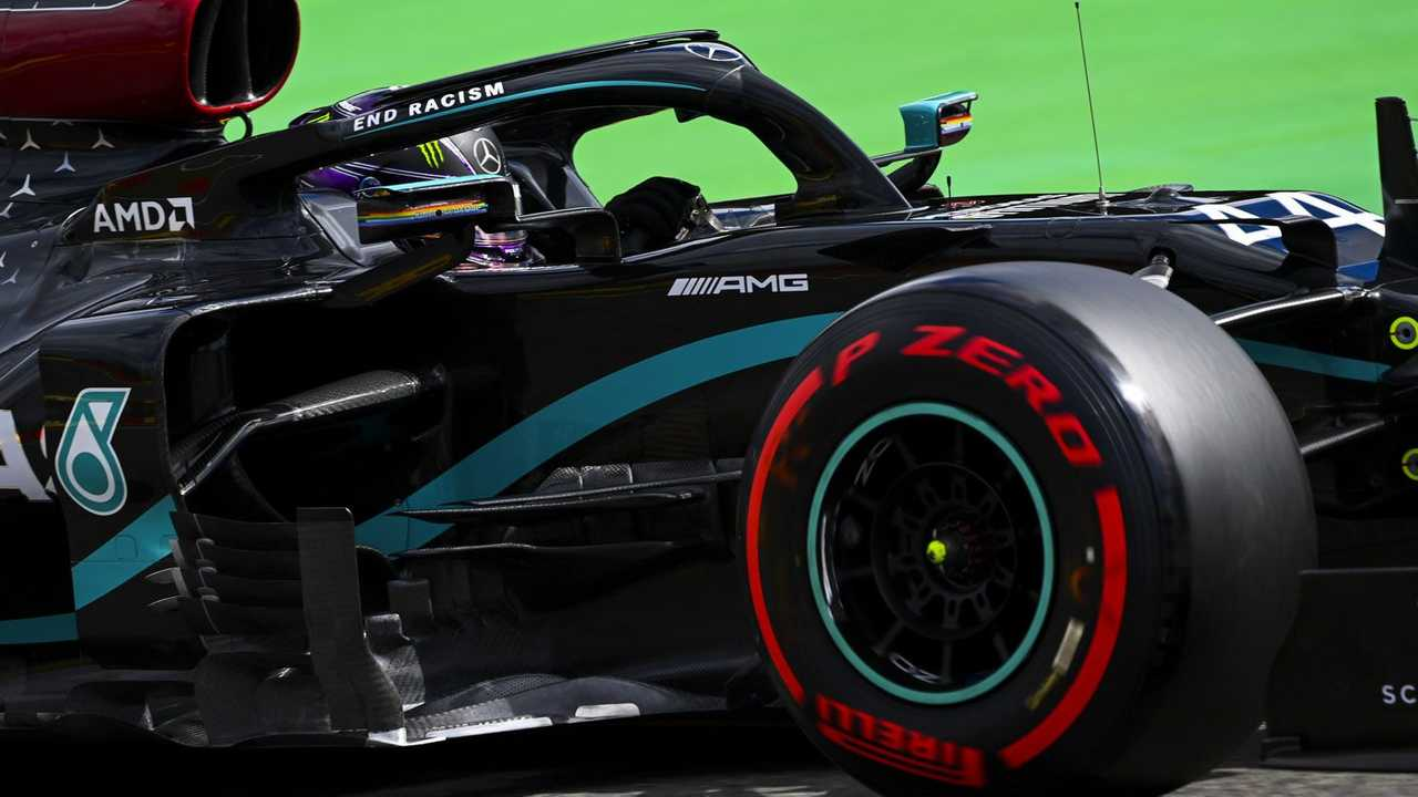 Lewis Hamilton at Belgian GP 2020