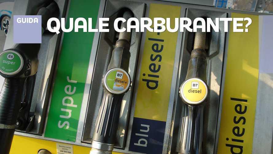 Auto benzina, Diesel, GPL, Metano, ibride: a chi conviene cosa?
