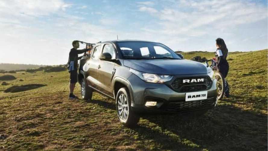 Nova Fiat Strada se torna RAM 700 e chegará a 13 países latinos em 2021